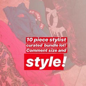 Tops - 10 piece bundle lot Women's mystery Wholesale